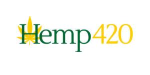 hemp420.com Domain Logo