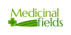 medicinalfields.com Domain Logo